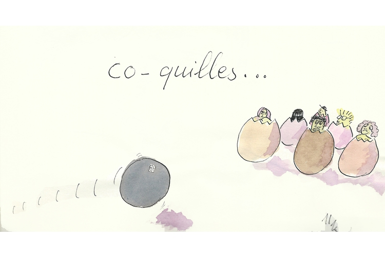 Co-quilles